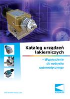 Katalog urządzeń lakierniczych - pompy cyrkulacyjne, zawory przałączające do farb, mieszacze Cyclix, podgrzewacze