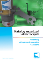 Katalog urządzeń lakierniczych - natrysk automatyczny