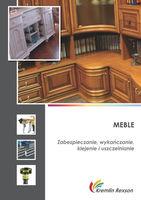 Meble - zabezpieczanie, wykańczanie, klejenie i uszczelnianie