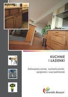 Kuchnie i łazienki - zabezpieczanie, wykańczanie, spajanie, uszczelnianie
