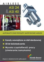 Airless ASI 24 & ASI 40 - automatyczne pistolety natryskowe Airless
