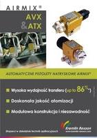 AIRMIX AVX & ATX - automatyczne pistolety natryskowe AIRMIX