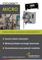 Cyclomix Micro - maszyna dozująca do farb jedno lub dwuskładnikowych