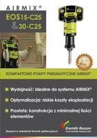Airmix EOS 15-C25 & 30-C25 - kompaktowe pompy pneumatyczne Airmix