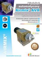 Pistolet automatyczny Airmix AVX - lekka i kompaktowa konstrukcja